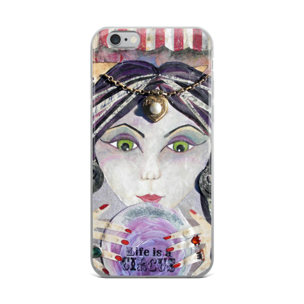 THE AMAZING - Gypsy Fortune Teller • iPhone Case